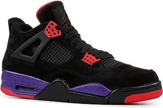 brand new d8ba7 11eb3 Air Jordan 4 Retro NRG Raptors AQ3816 065 Black Purple