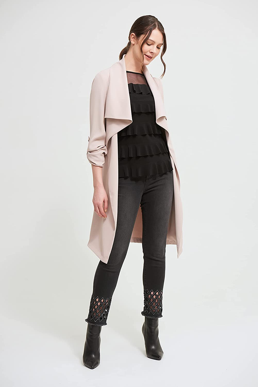 Joseph Ribkoff Womens Long Belted Cardigan Style 213654