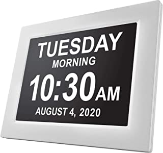 American Lifetime, Newest Version, Day Clock Extra Large Impaired Vision Digital Clock..