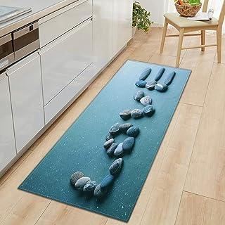 Kök halkskydd matta sovrum badrum hem dörrmatta 3D-tryck hem golv dekoration vardagsrum matta A20 50 x 80 cm