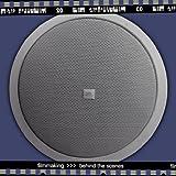 JBL Control 24CT Compact Ceiling Loudspeaker, White (Sold as Pair)