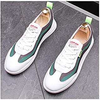 Mens Womens Trainers Running Shoes Lightweight Sports Gym Walking Sneakers Multi Sport Athletic Jogging Fitness Walking Casual Shoes,Green,38EU