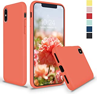 Best iphone x peach silicone case Reviews
