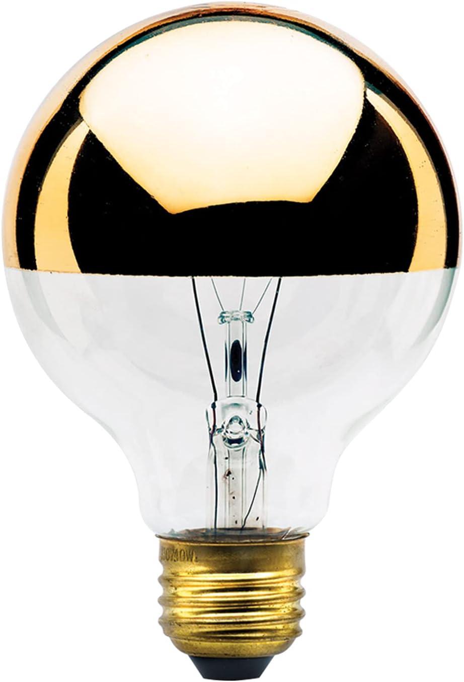 Bulbrite Award-winning store Incandescent G25 Medium Screw Bulb lowest price Base Light E26 1