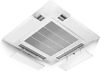 Aire Acondicionado Central Parabrisas Deflector Hood Aire Acondicionado Vent Baffle Anti-soplado Straight Ceiling Machine Propósito General (una Rebanada) (Tamaño : 52cm)
