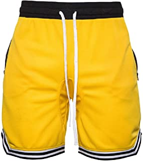 RkYAO Men's Shorts Casual High Street Drawstring Waist 1/2 Length Sport Pants