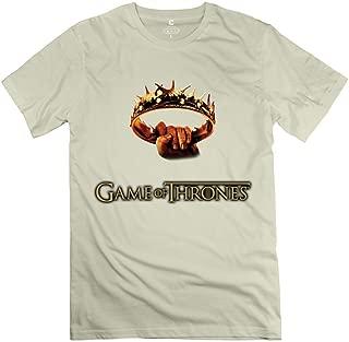 StaBe Man's Game Thrones Logo T-Shirt 100% Cotton Geek