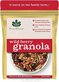 Brookfarm Wild Berry Granola, 400 g