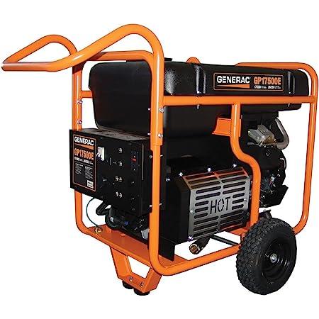 Generac 5735 GP17500E 17500 Running Watts/26250 Starting Watts Electric Start Gas Powered Portable Generator