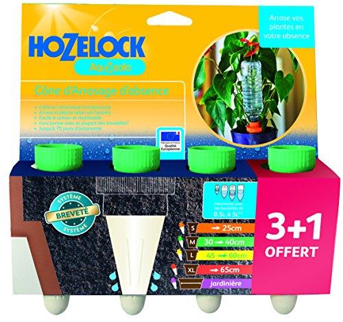 Aquasolo 10420 Bewässerungskegel, mittelgroß, Grün, 4Stück