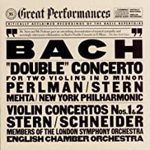 Bach: Double Concerto For Two Violins In D Minor, Violin Concertos Nos. 1 & 2 (CBS Great Performances)