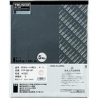 TRUSCO(トラスコ)耐水ペーパー 228X280#80 5枚入 TTP805P