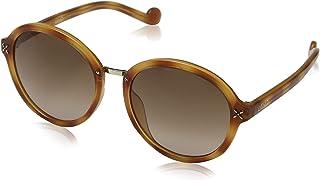 نظارة شمسية دائرية من لي جو للنساء - Lj640S-218 - 55-19-135 ملم - بني
