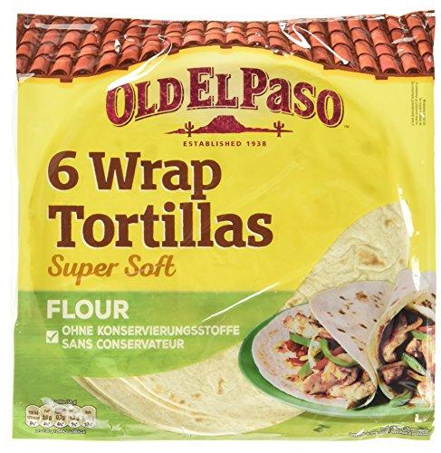 Old El Paso Wrap Tortillas Super Soft, 3er Pack (3 x 350 g)