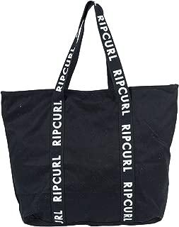 Rip Curl Women's Standard Tote Essentials, Black/White, One Size
