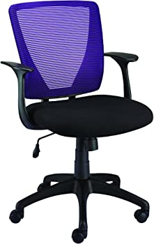 Staples Vexa Mesh Chair (Purple)