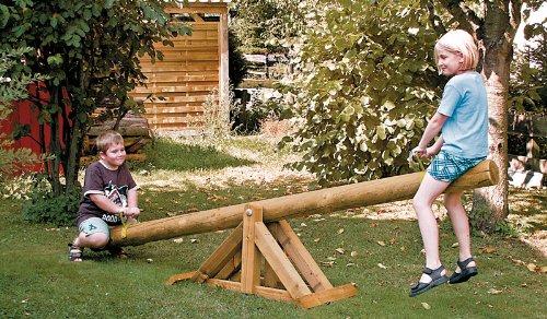 Balancín de balancín para el jardín en medidas 300 x 50 x 45 cm (largo x ancho x altura) – con CERTIFICADO TÜV. – Madera de druckimprägnierten: Amazon.es: Jardín