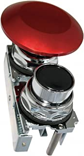 Black/Red Pendant Push Button, Number of Operators: 2, Action: Maintained