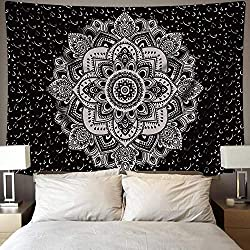 Digital Printing of Mandala Indian Tapestry Interior Decoration Cloth Fabric Wall Hanging Decor for Bedroom Living Room