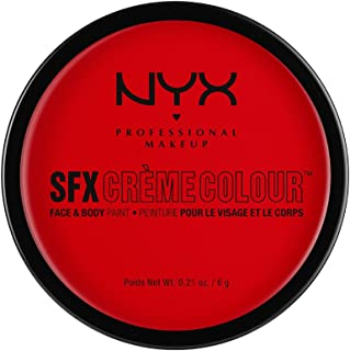 NYX PROFESSIONAL MAKEUP SFX Creme Colour, Red, 0.21 Ounce