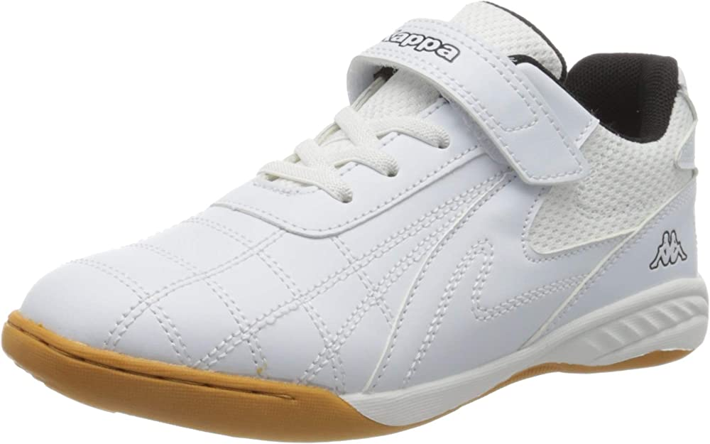 Kappa furbo kids, scarpe da ginnastica basse, unisex-adulto,in ecopelle 260776