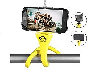 Monkey Stick Pod - Flexible Camera Tripod Mount, Monopod, Selfie Stick, Car Headrest Mount, Handlebar,Golf Cart Holder for iPhone, Samsung, SJ4000, Sony Actioncam, GoPro, Samll Camera, Cell Phone