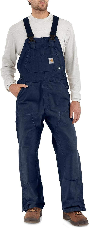 Carhartt Men's Flame Resistant Duck Bib Overall