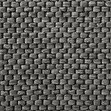 Teppich / Läufer Sabang | anthrazit, Sisaloptik | Qualitätsprodukt aus Deutschland | GUT Siegel | kombinierbar mit Stufenmatten | viele Breiten und Längen (100×250 cm) Küchenläufer Flurläufer Teppichläufer - 3