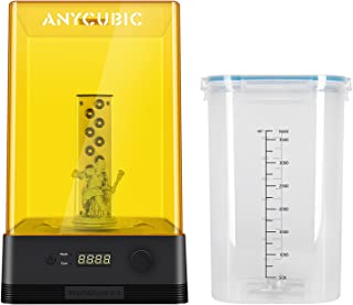 ANYCUBIC 3D Printer Wash and Cure Station, Newest Upgraded 2 in 1 Washing and Curing 2.0 Machine for Mars Photon S Photon ...