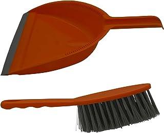 IMUSA USA Dust Pan Set, Regular, Orange