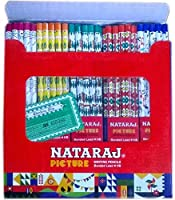Nataraj Pencils - Jumbo Pack of 100 Writing Bonded Lead Pencils (HB) by Nataraj