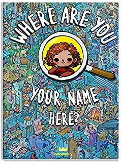 Personalized Search-and-Find Book - Where are You.? | Wonderbly (Journal)