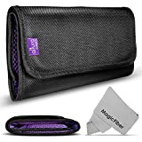 6 Pocket Filter Wallet Case for Round or Square Filters + Premium MagicFiber Microfiber Cl...