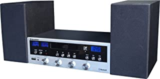 comprar comparacion Roadstar HIF-6970BT sistema de audio para el hogar - Microcadena (Negro, Plata, Corriente alterna, 3,5 mm, CD, CD-R, CD-RW...