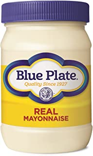 Blue Plate Real Mayonnaise, 16 Ounce Jar (Pack of 12)