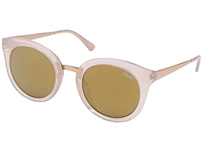 QUAY AUSTRALIA QUAYxBenefit Shook (Pink/Brown Flash) Fashion Sunglasses