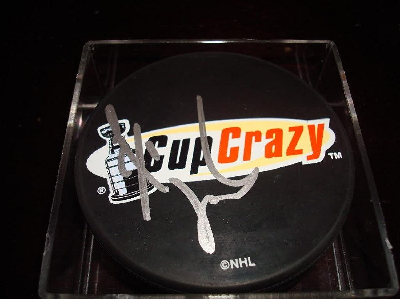 Todd Bertuzzi Autographed Puck  Cup Crazy  Autographed NHL Pucks