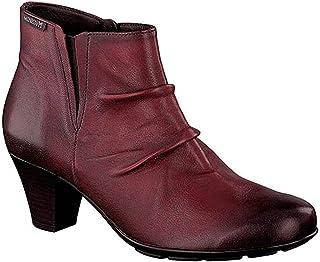 bottines rouges mephisto