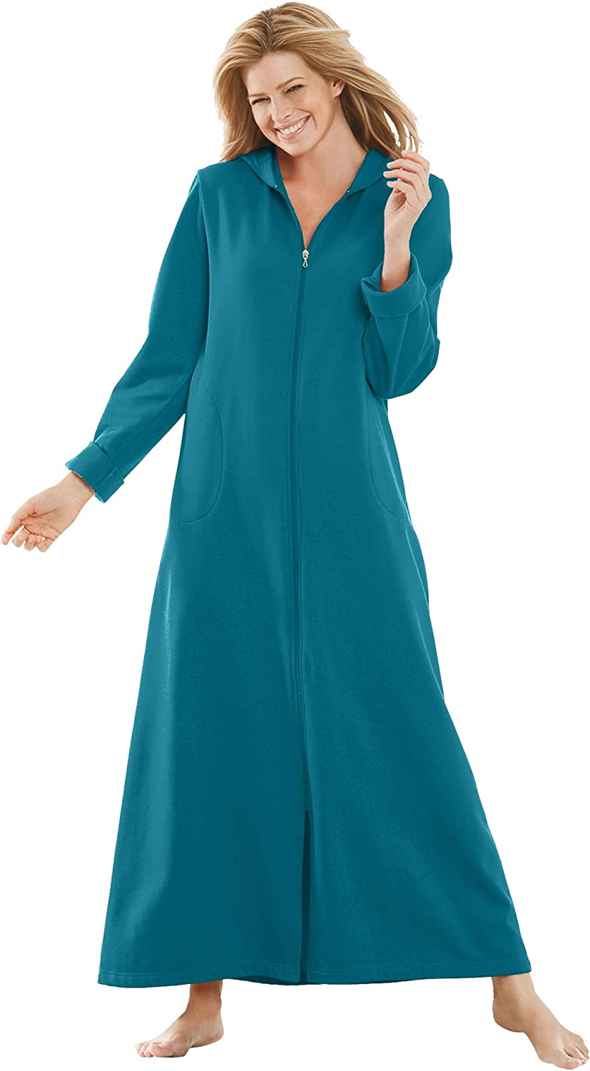 Dreams Co. Women's Plus Fleece Hooded Size Popular product Sale special price Robe