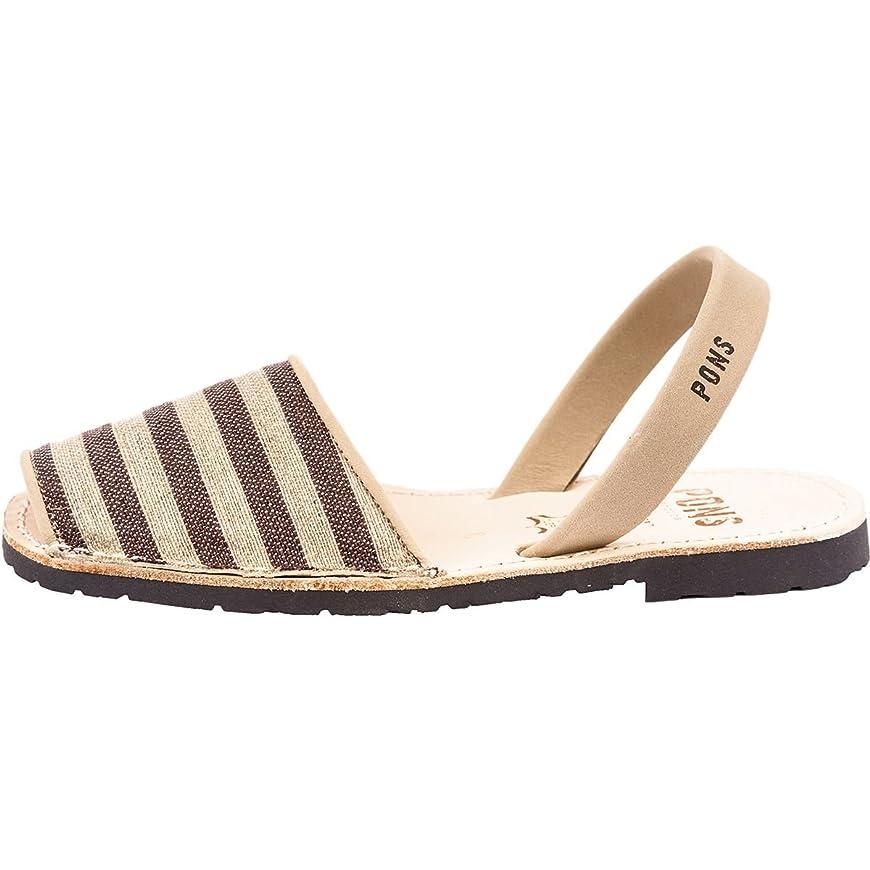 失敗発信化石ポンズアバカス レディース サンダル Classic Textile Sandal [並行輸入品]