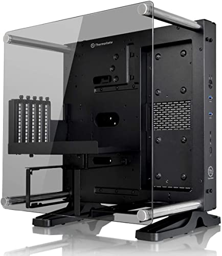 Thermaltake Core P1 Tempered Glass Edition Mini ITX Open Frame Panoramic Viewing Tt LCS Certified Gaming Computer Cas...
