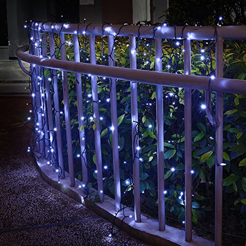 jar-owl Solar String Lights Outdoor Waterproof 72FT 200 LED 8 Modes for Home/Garden/Patio Wedding/Christmas Party (White)