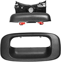 Replacement Tailgate Handle Latch and Bezel Trim with Clips - Replaces GM part 15997911, 15228539, 15228541, 15228540 - Fits Chevrolet Silverado and GMC Sierra 1500, 1500HD, 2500, 2500HD, 3500 Classic