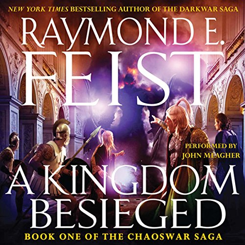 A Kingdom Besieged audiobook cover art