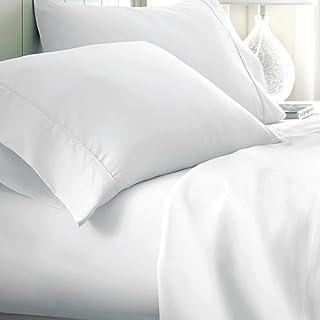 Urban Hut Egyptian Cotton Sheets Set (4 Piece) 800 Thread Count - Bedspread Deep Pocket Premium Bedding Set, Luxury Bed Sh...