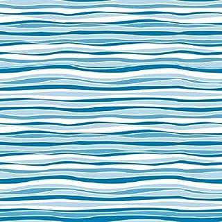 بطانة رف وأدراج ذاتية اللصق من العلامة التجارية Con-Tact Creative Covering، 45.72 سم × 22.86 سم، Wave Marina