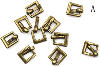 10PCS 4.5MM Diy Mini Japanese Word Buckles For Bjd Blyth Doll Shoes Clothes BR
