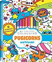 Kaleidoscope Colouring: Pugicorns and Friends