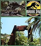 F-HOCD08 Jurassic Park 35cm x 40cm,14inch x 16inch Silk