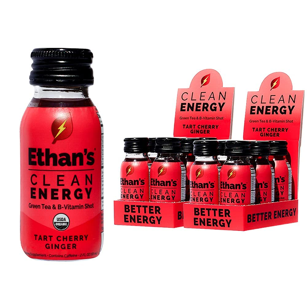 Ethan's Organic Energy Drink Tart Weekly Dealing full price reduction update Cherry Ve Ginger Flavor